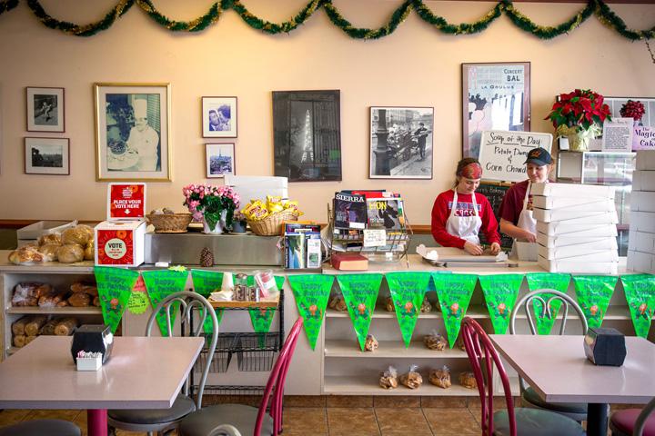 Robaires Bakery interior