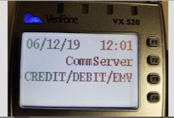 Madison : Verifone vx520 constantly rebooting