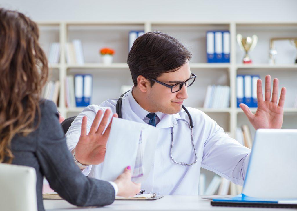 Doctor challenges billing