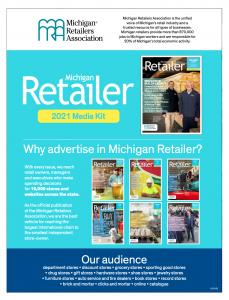Michigan Retailer magazine Media Kit
