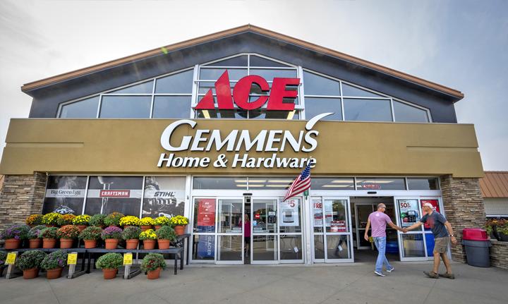 Gemmen's coolest hardware store